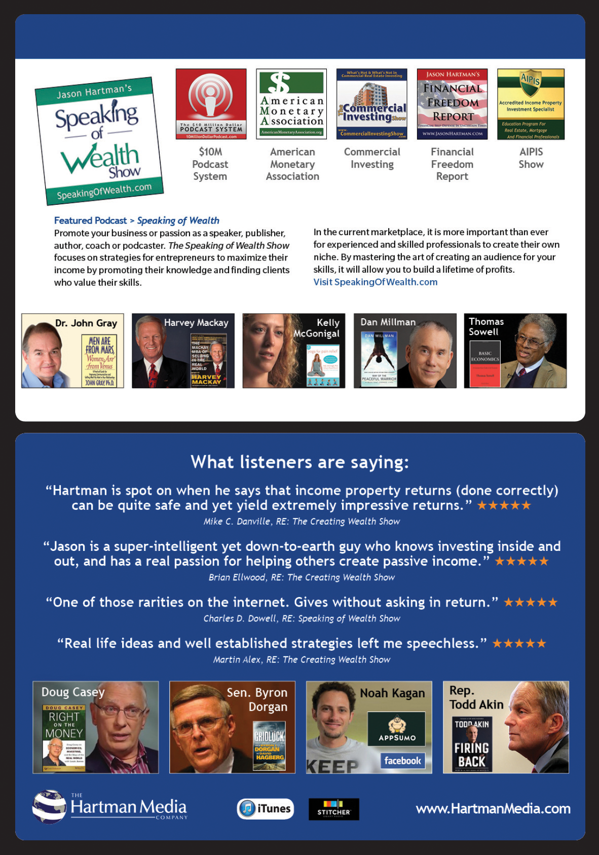 Hartman Media's Podcast Guest Brochure Page 2